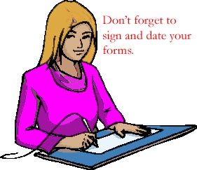 Sign your forms